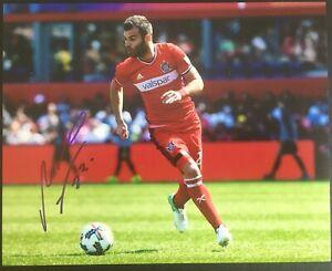 Nemanja Nikolic Signed Chicago Fire FC 8x10 Photo