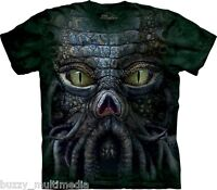 Cthulhu Big Face Shirt, Mountain Brand, In Stock, Small - 5X, Lovecraft, tee