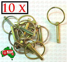 "10 X 8 mm 5/16"" Lynch Linch Pin Locking Tractor Implement Trailer Caravan"