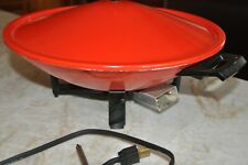 West Bend Electric Wok With Lid and Power Cord