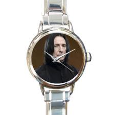 El profesor severo Snape pulsera con dijes de Reloj Harry Potter agregar o quitar enlaces