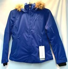 Obermeyer Women's Tuscany Snow Ski Winter Jacket True Blue Size 12 NEW