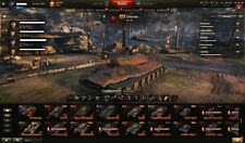 World of Tanks Wot and World of Warships account EU 77 PREM tank, 48 PREM ships
