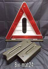 10x Gebra Warndreieck original Bundeswehr BUND BW MAN Mercedes G Wolf Unimog