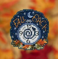 Mill Hill - Autumn Harvest - Fall Back - Cross Stitch Kit - MH18-1922