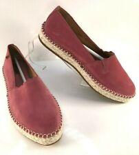 EL NATURALISTA Women's Rose Pink Suede Leather Espadrille Shoes EU 40 UK 7 *NEW*