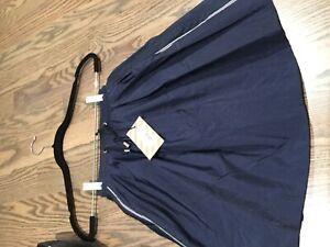 No added sugar. New girls skirt. Navy, size 7-8