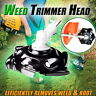 Weed Trimmer Head Lawn Mower Sharpener Weed Trimmer Head for Power Lawn Mower