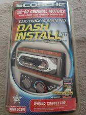 Scosche 82-02 General Motors Car/truck/suv Stereo Dash Install Kit Gm1503W