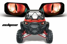 Headlight Eye Graphics Kit Decal Sticker Cover For Polaris RZR 800/900 ECLIPSE R