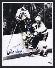 John McKENZIE CRUCIFIES Bob PLAGER St. Louis BLUES Signed 8X10 w/borders NEAT !!