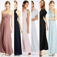Ex M&S Multiway Strap Maxi Dress Size 6 - 22 Bridesmaids Party Occasion
