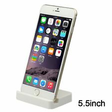 Mini White Lightning Dock Base Socle Charging Cradle Station For iPhone 6 7 Plus