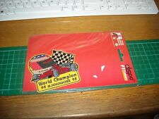 TOPPA PATCH  IN STOFFA RICAMATA michael schumacher collection ..