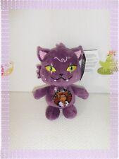 ¶ - Peluche Monster High Croissant  Chat Mauve  20 cm Neuf