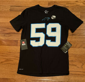 Luke Kuechly Carolina Panthers Nike Youth Player Pride Name & Number Shirt YL