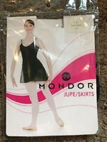 Adult XS Black Ballet Wrap Style Dance Costume Skirt NWT !