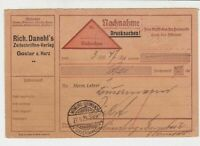germany 1929 stamps card ref 18980