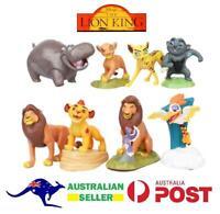 Lion King Disney 8 PCS Action Figure Cake Topper Toys Decoration Simba Scar (A)