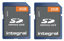 Pack of 2 Integral Class 4 2GB 4MB/s SD Cards