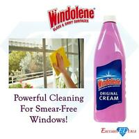 Windolene Original Cream 500ml For Glass & Shiny Smear Free Windows / Glass