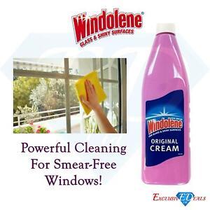 Windolene Original Cream 500ml For Glass & Shiny Smear Free Windows/ Glass
