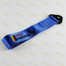 Car Tow Towing Strap Blue JDM MAZDASPEED Racing Drift Belt Hook for MAZDA x1