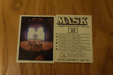 Mask Panini sticker 1986 ( M.A.S.K.  Kenner parker toys ) number 32