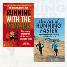 Running with the Kenyans 2 Books Collection Set The Art of Running Faster ,New