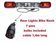 nouveau modèle Feu panneaux Porte-vélo, moto Support, remorque auto 7 broches,