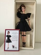 Barbie Silkstone Classic Black Dress Italian Doll Convention IDC 2016 NRFB