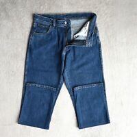 Mens WRANGLER Jeans Regular fit Straight Leg stretch denim Size W32 L32 Blue
