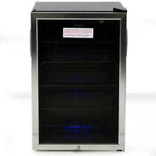 Beverage Mini Refrigerator Fridge Stand Wine Soda Beer Water Drinks Bar Cooler