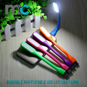 Bendable and Flexible USB LED Light Lamp for Keyboard Laptop Camping lights