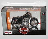 Maisto - Harley Davidson 2012 XL 1200V SEVENTY-TWO (Blue) Model Scale 1:18