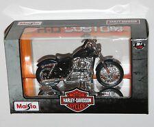 Maisto Harley Davidson 2012 XL 1200 V Seventy-Two (bleu) modèle échelle 1:18