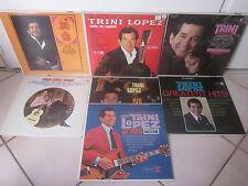 TRINI LOPEZ 7 X LP LOT COLLECTION SET ROCK