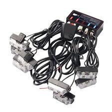 1 Kit LED Car Strobe Emergency Warning Light Strobe Lights Bars Deck Dash Grill