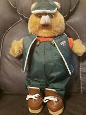 Vintage 1985 Teddy Ruxpin Toy Bear Clothes Hiking Camping Adventure outfit WOW