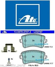 OEM Original Ceramic ATE Rear Brake Pad Pads Set Audi A5 8T3 8F7 Sportback 8TA