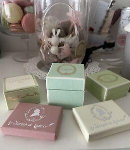 6 Mini-boîtes Ladurée (macaron, chocolat)
