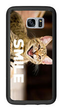 Smile With Cat For Samsung Galaxy S7 G930 Case Cover by Atomic Market