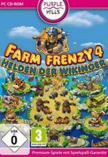 Farm Frenzy 4 héros des vikings allemand excellent état