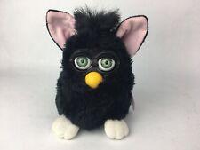 Vintage 1998 Furby Tiger Electronics Black w/Green Eyes #70-800