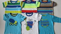 EX-NEXT BOYS T-SHIRTS TOPS VARIOUS DESIGNS- BUS - MIXER - STRIPE - HOLIDAY BNWOT