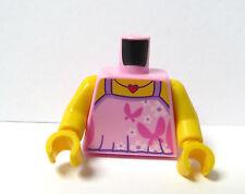 LEGO 1 corpo tronco per ragazza donna minifigura Figura Farfalla Rosa Canotta