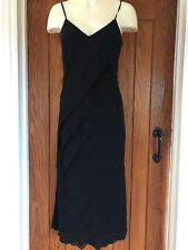 Marks And Spencer's Black Evening Cruise Or Occasion Dress Size 10