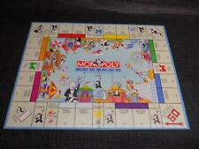 1990 MONOPOLY JUNIOR GAME BOARD Parker Brothers Gameboard