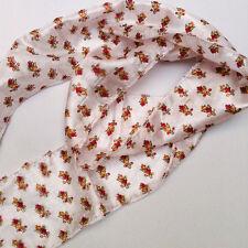 Skinny boho festival scarf / headband / headscarf / belt / sari remnant fabric