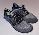 Nike Free RN Flyknit Running Shoes 'Oreo' Black White 942839-101 Women 8.5 New